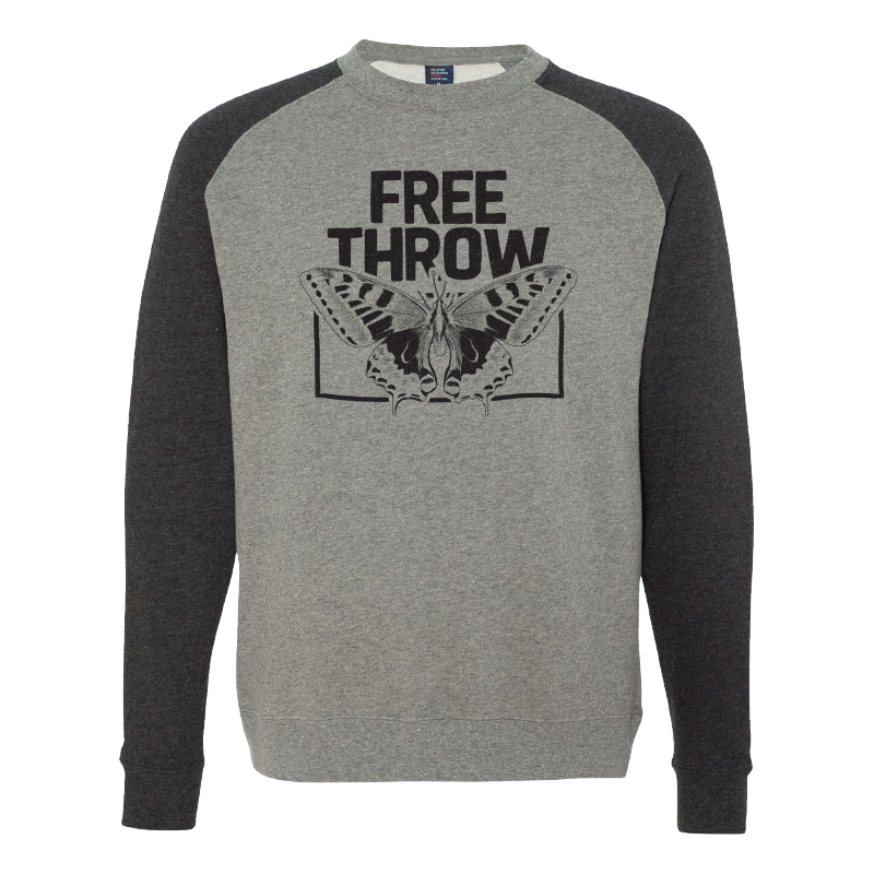 Free Throw - Vintage Butterfly Crew