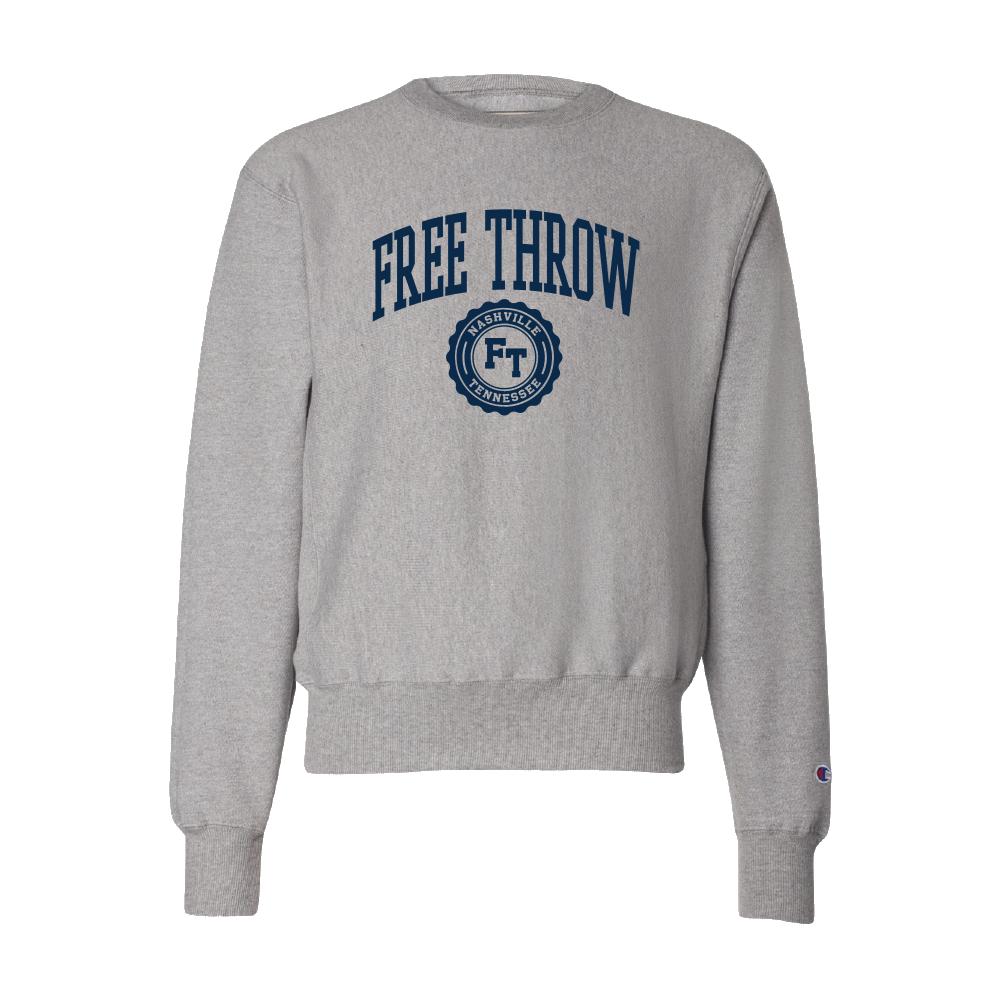 Free Throw - Collegiate Crewneck