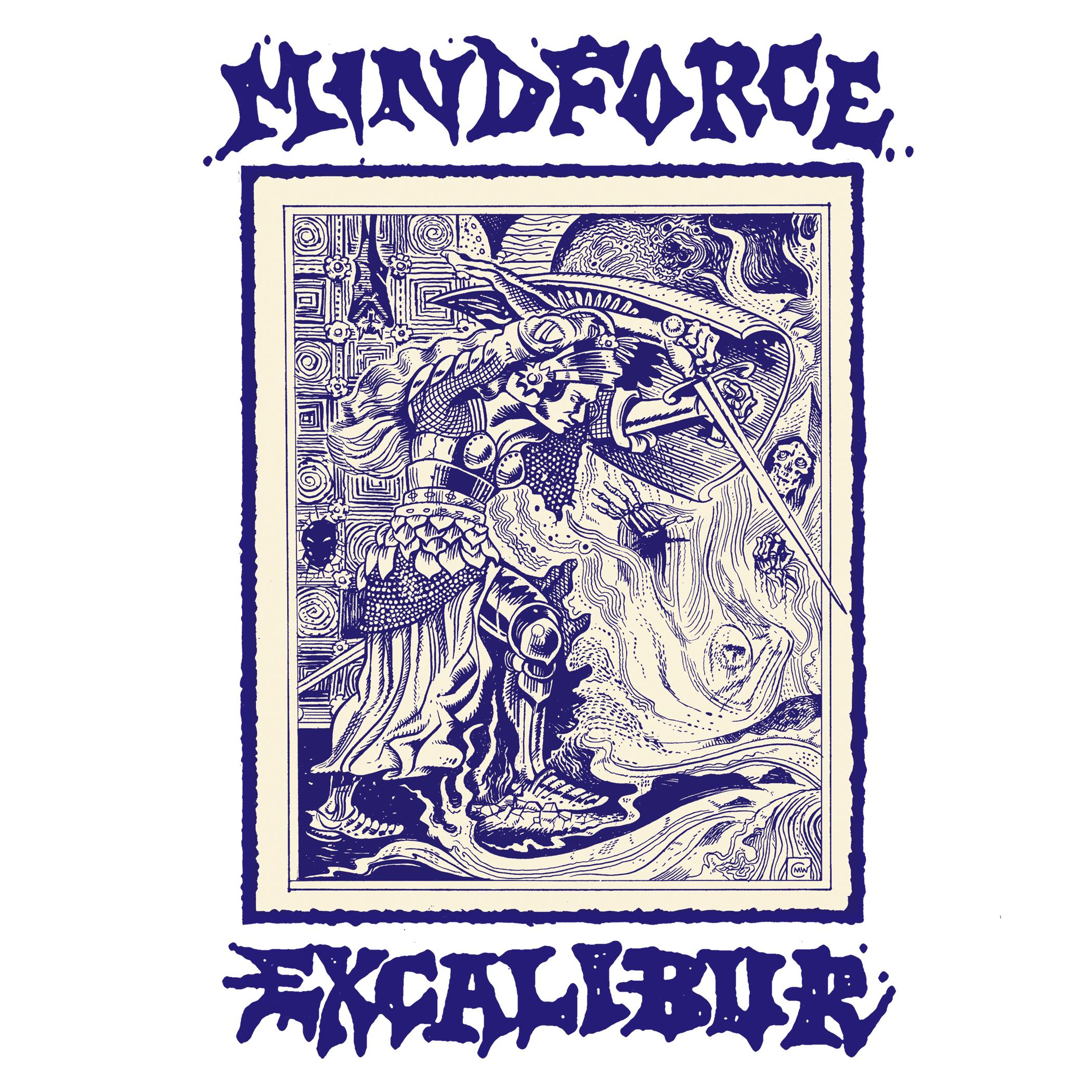 -sold out- Mindforce - Excalibur LP + flexi