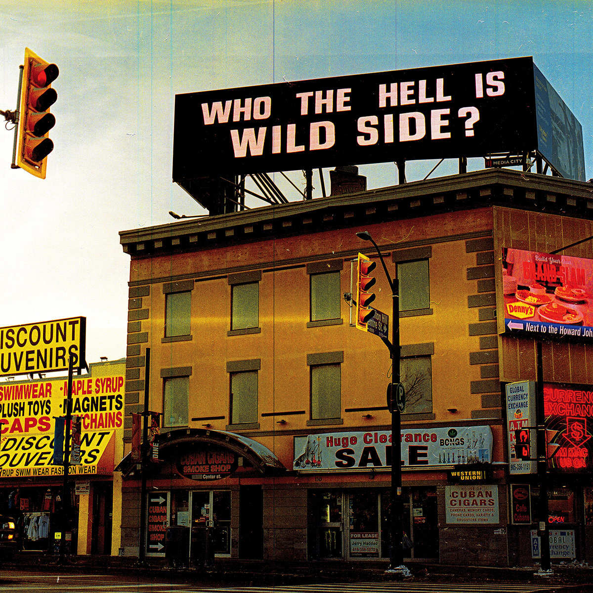 Wild Side - Who the hell is Wild Side? LP