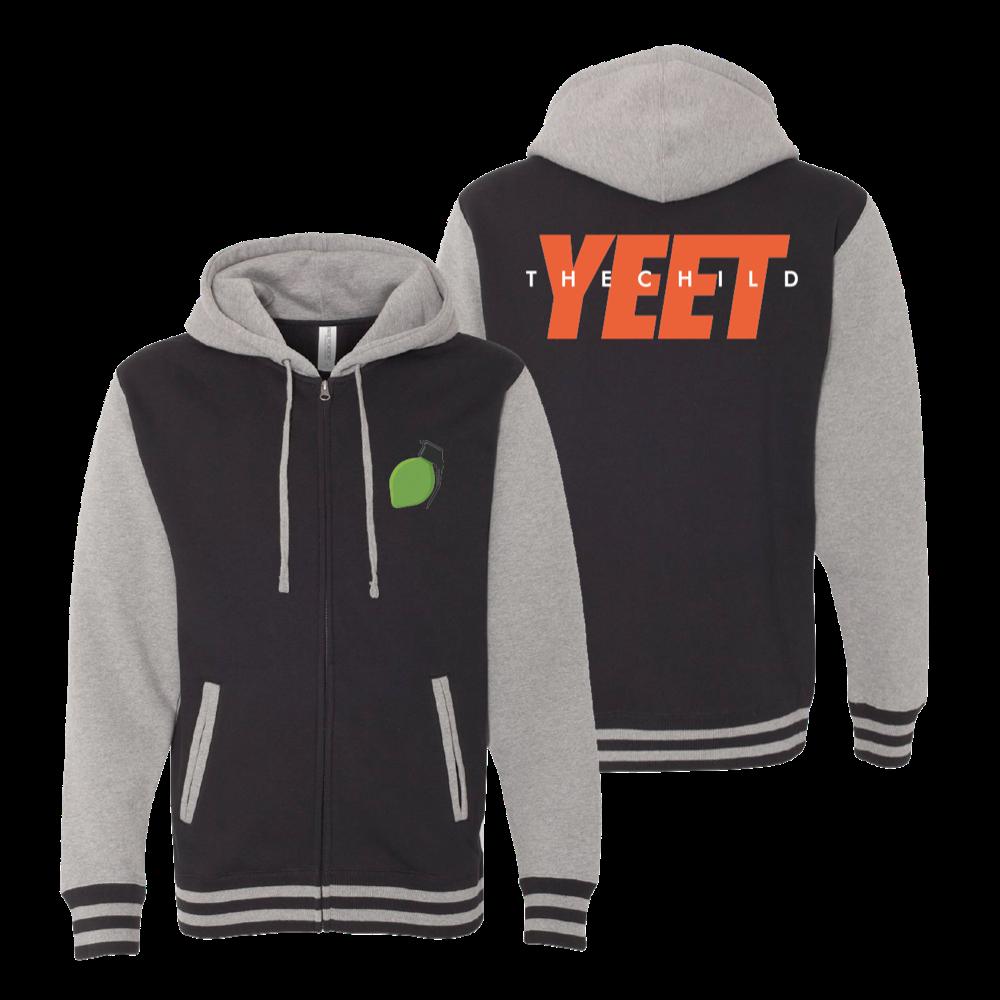 Yeet The Child Varsity Jacket