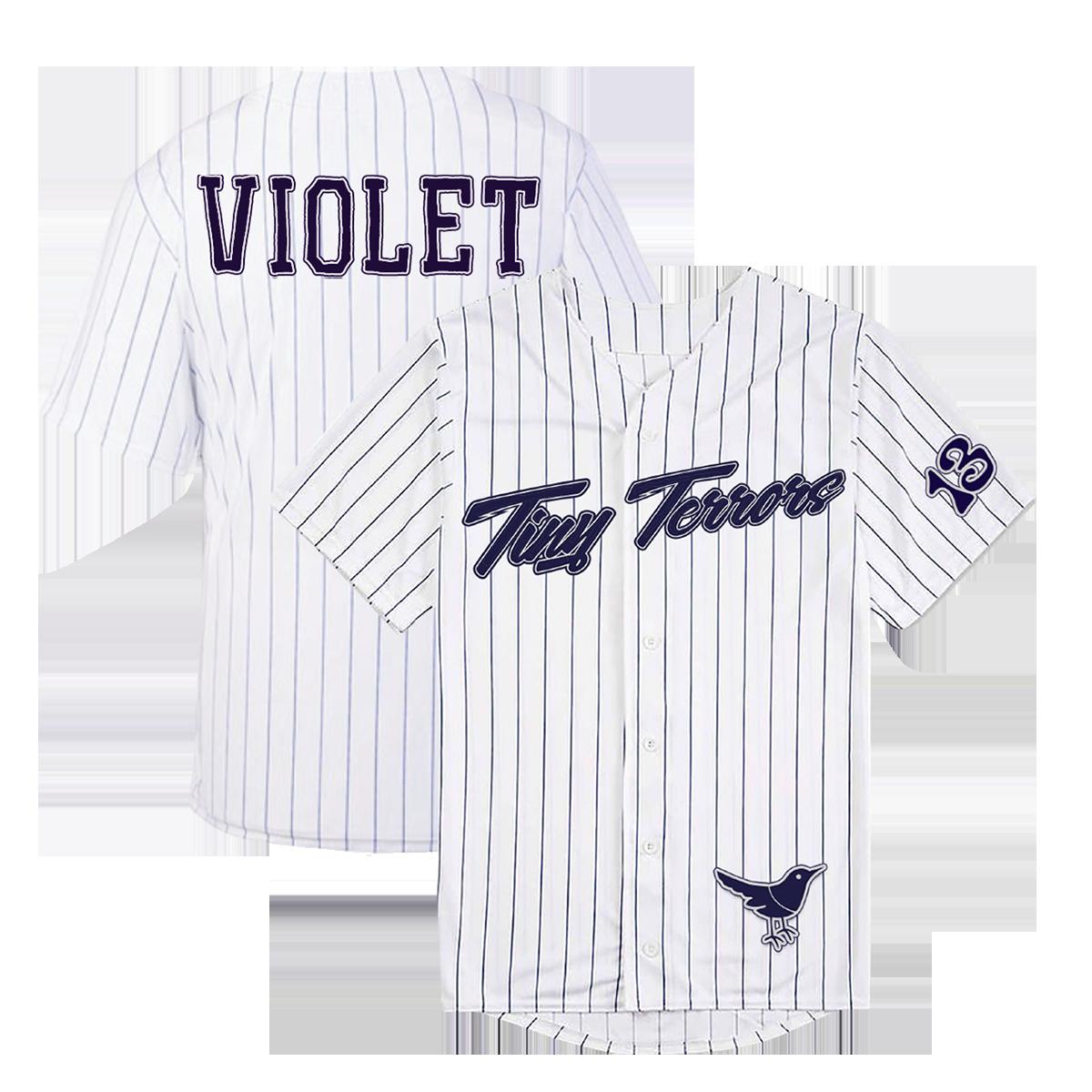 Tiny Terrors Baseball Jersey