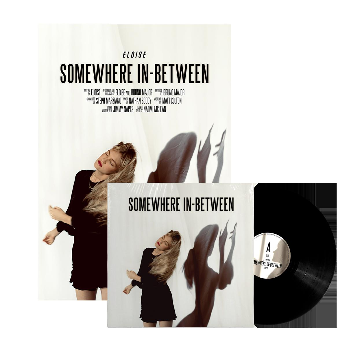 Somewhere In-Between LP + Poster