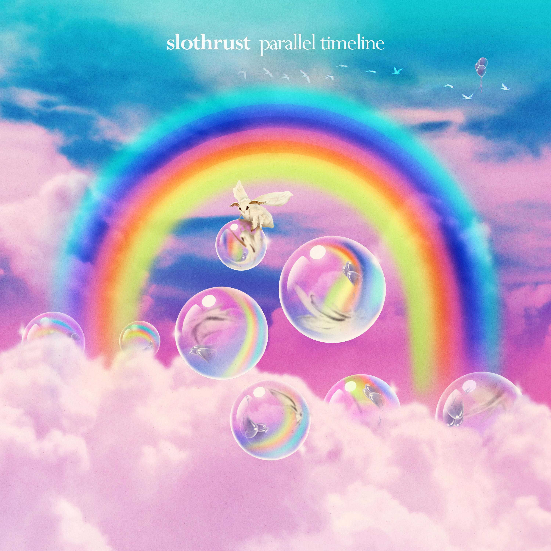 Slothrust - Parallel Timeline - Rainbow Stripe LP Bundle