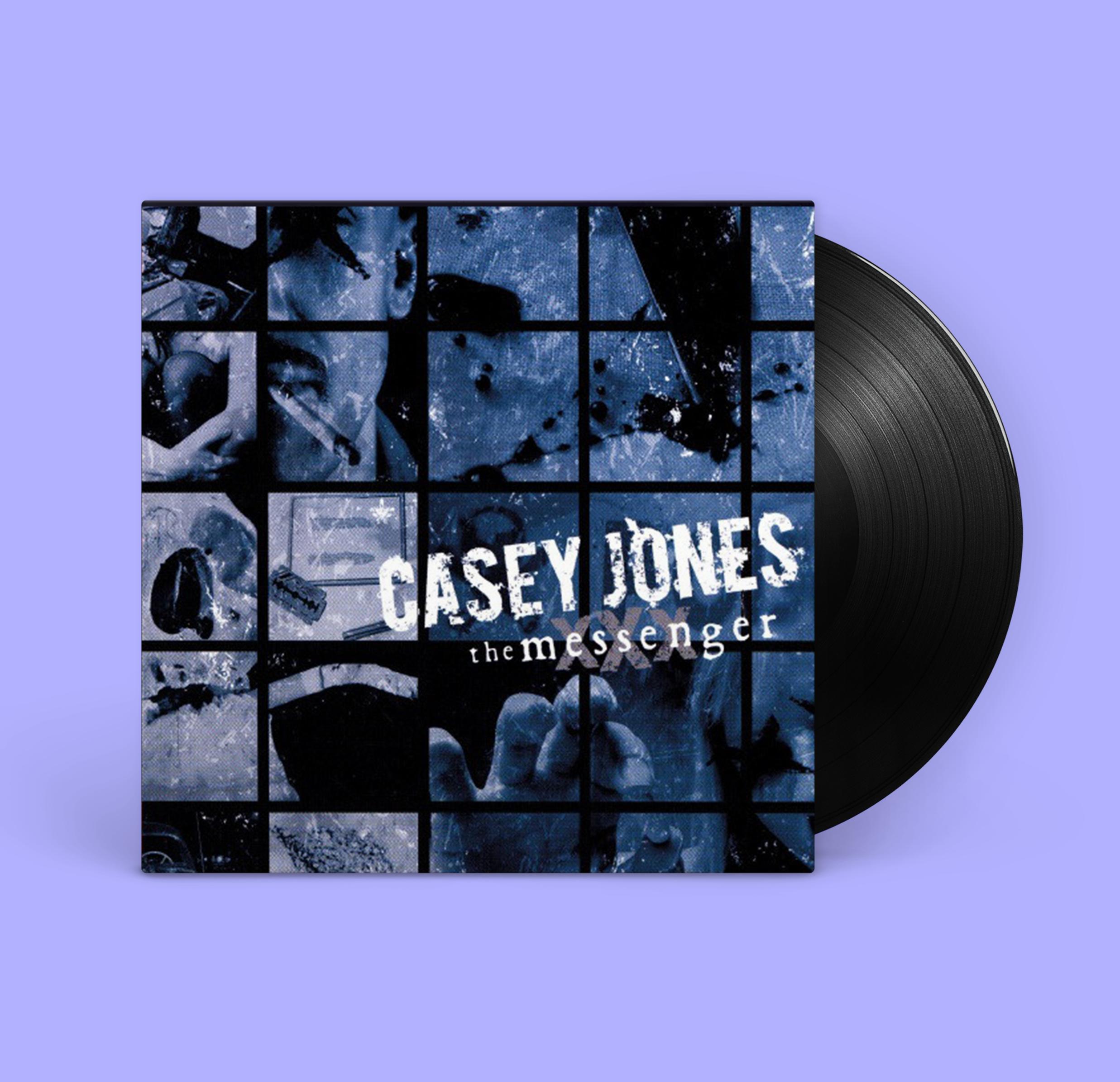 Casey Jones - The Messenger [LP, Vinyl, Black]