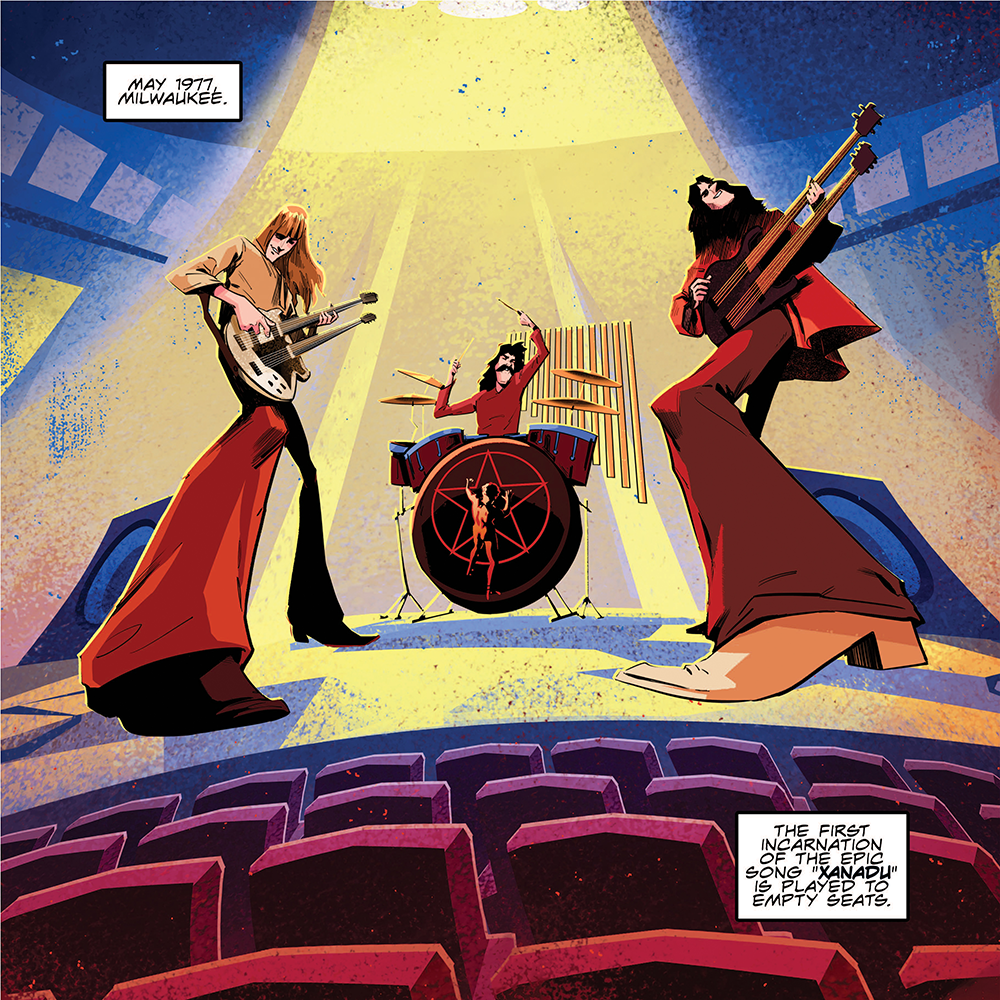 Rush: The Making of A Farewell to Kings: The Graphic Novel (Soft Cover)
