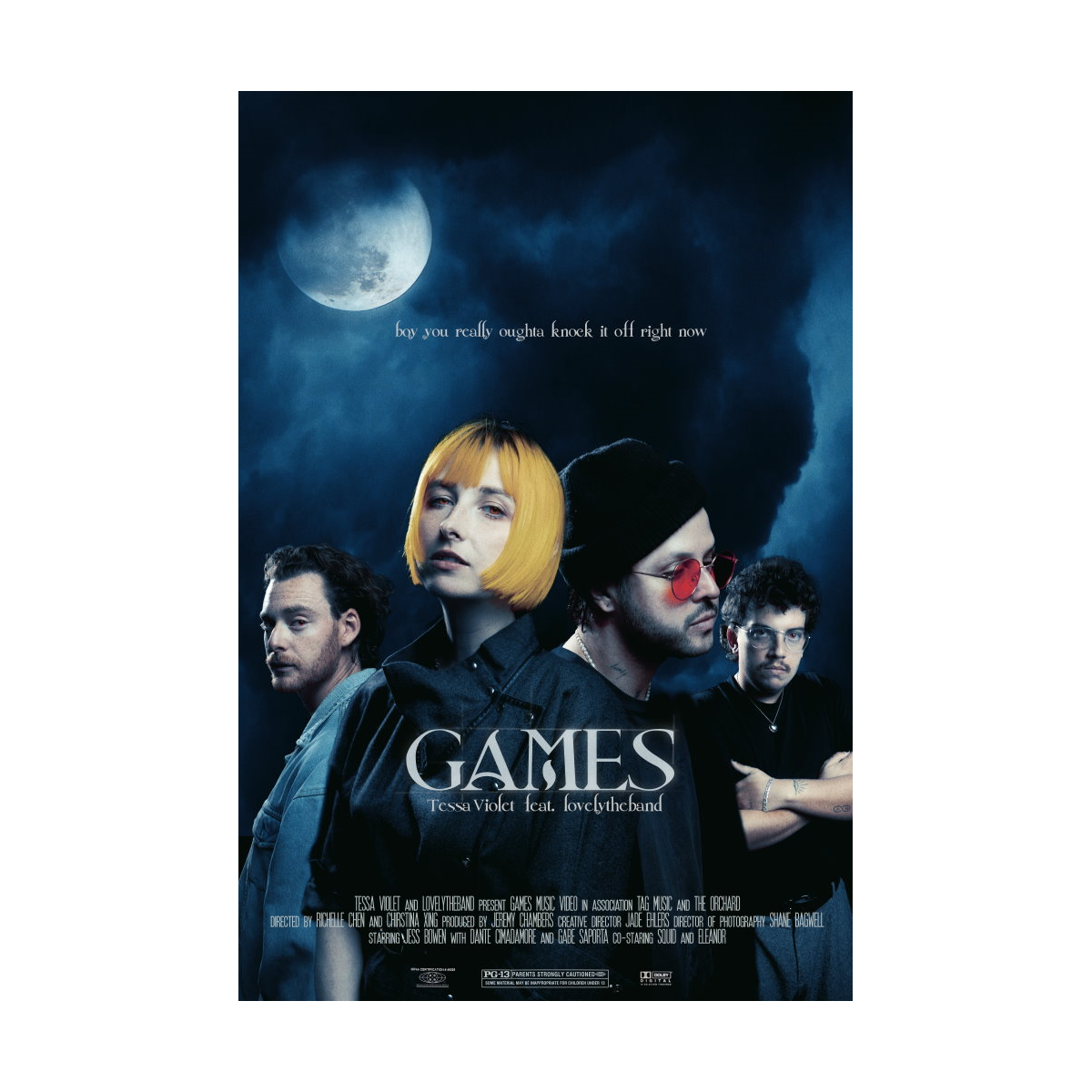 Games Poster (Feat. Lovelytheband)