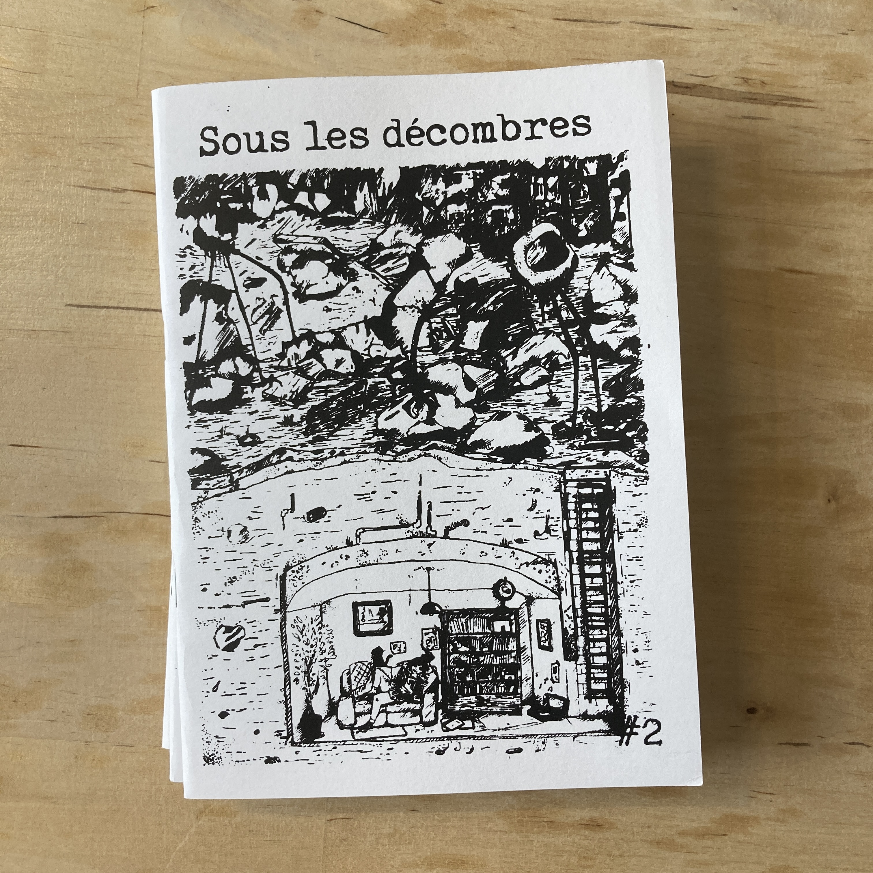Sous les décombres - fanzine #02