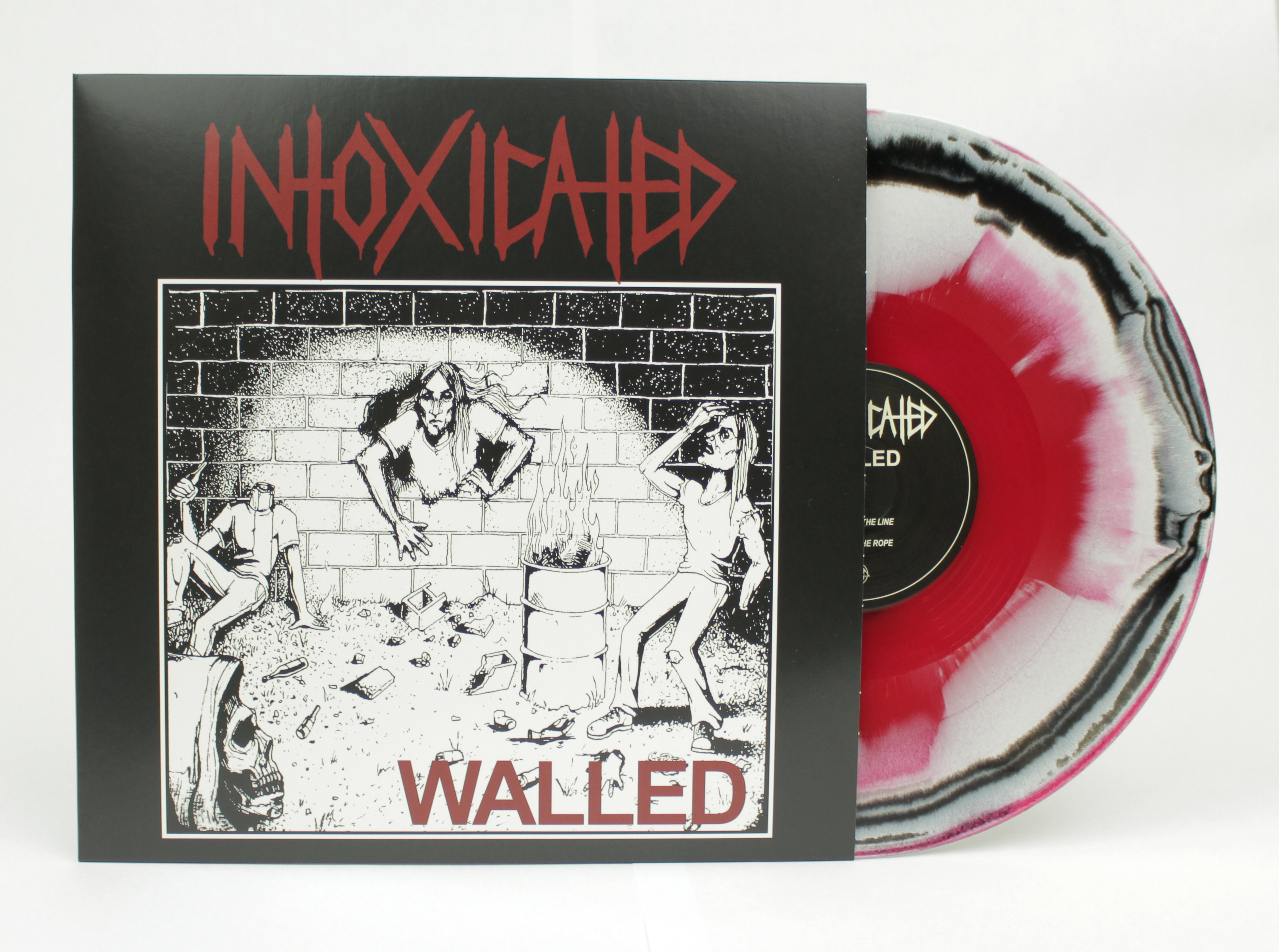 INTOXICATED - Walled EP