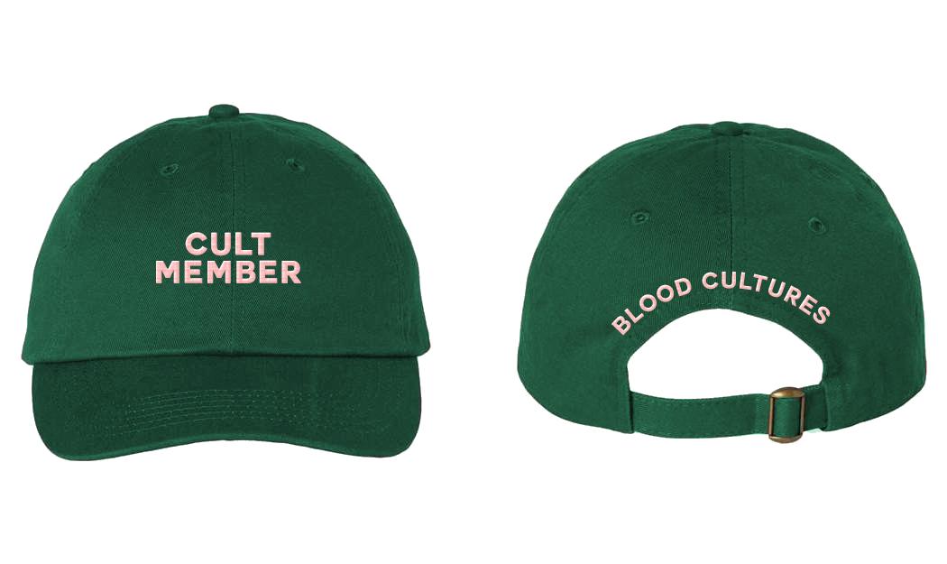 Forest Green Cult Cap (Limited Run)