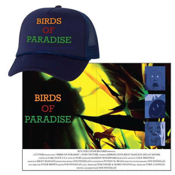 Fury - Birds of Paradise Hat & Poster