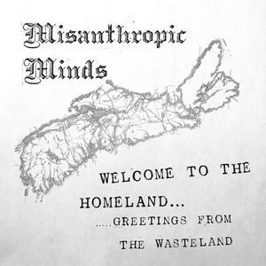 Misanthropic Minds - Welcome To The Homeland... T-SHIRT PREORDER