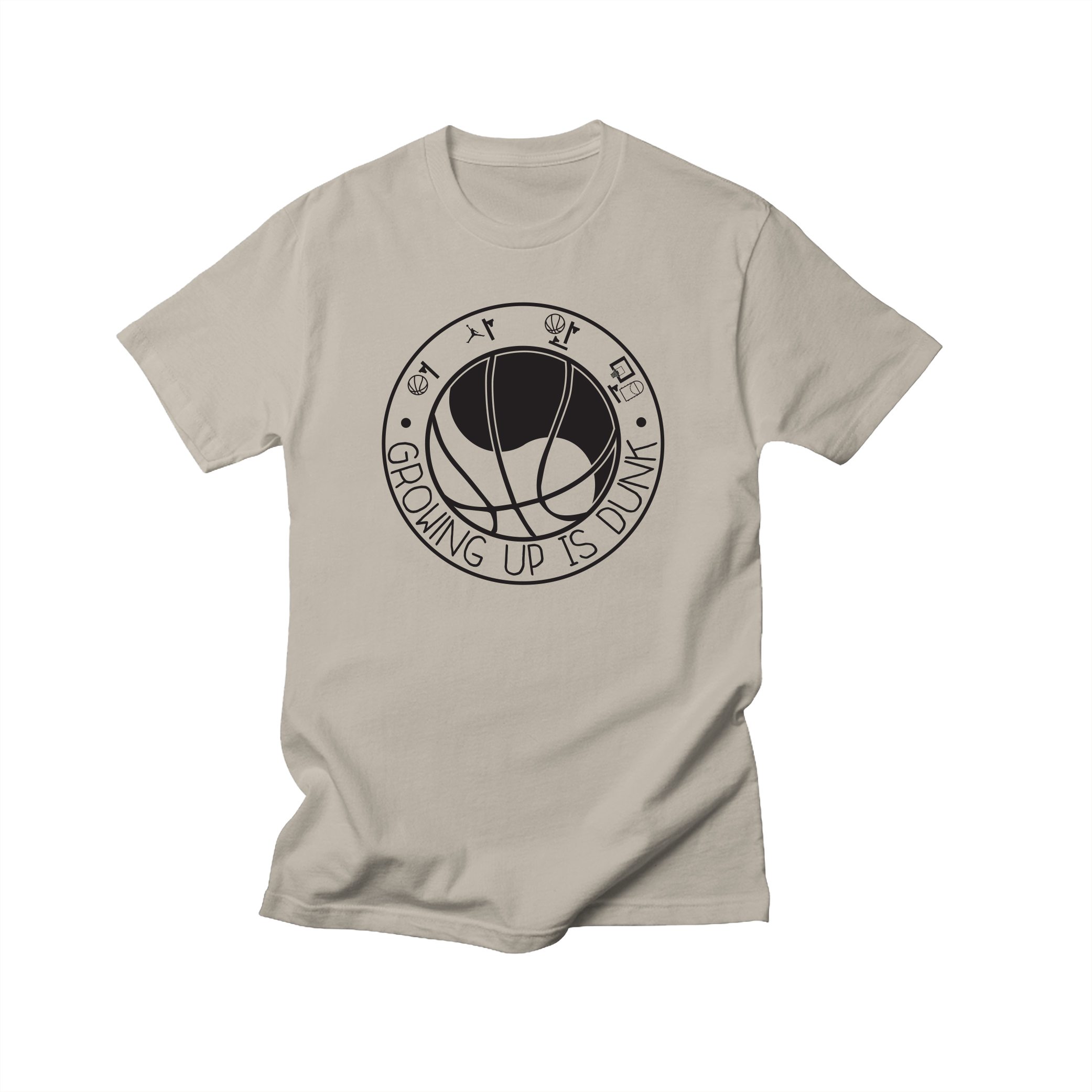 Growing Up Is Dunk Shirt