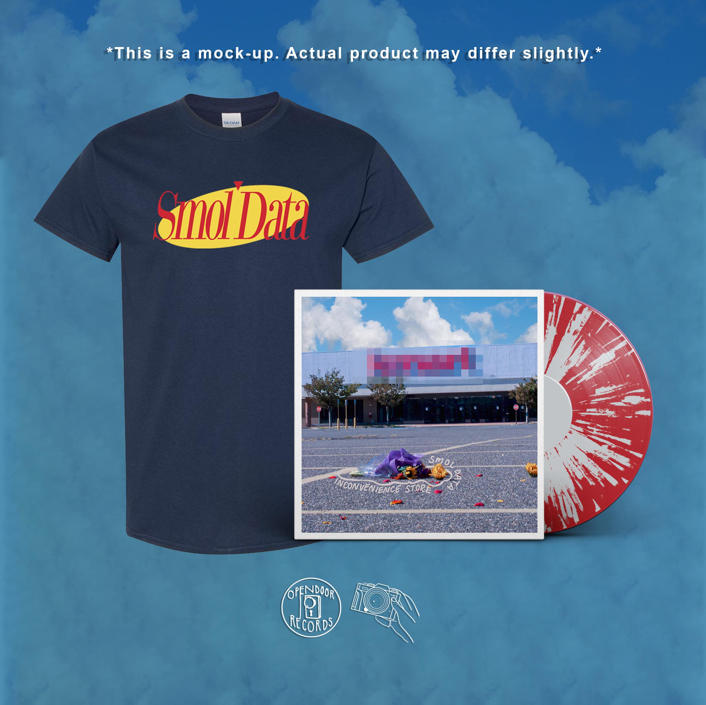 Smol Data- Inconvenience Store LP + shirt bundle