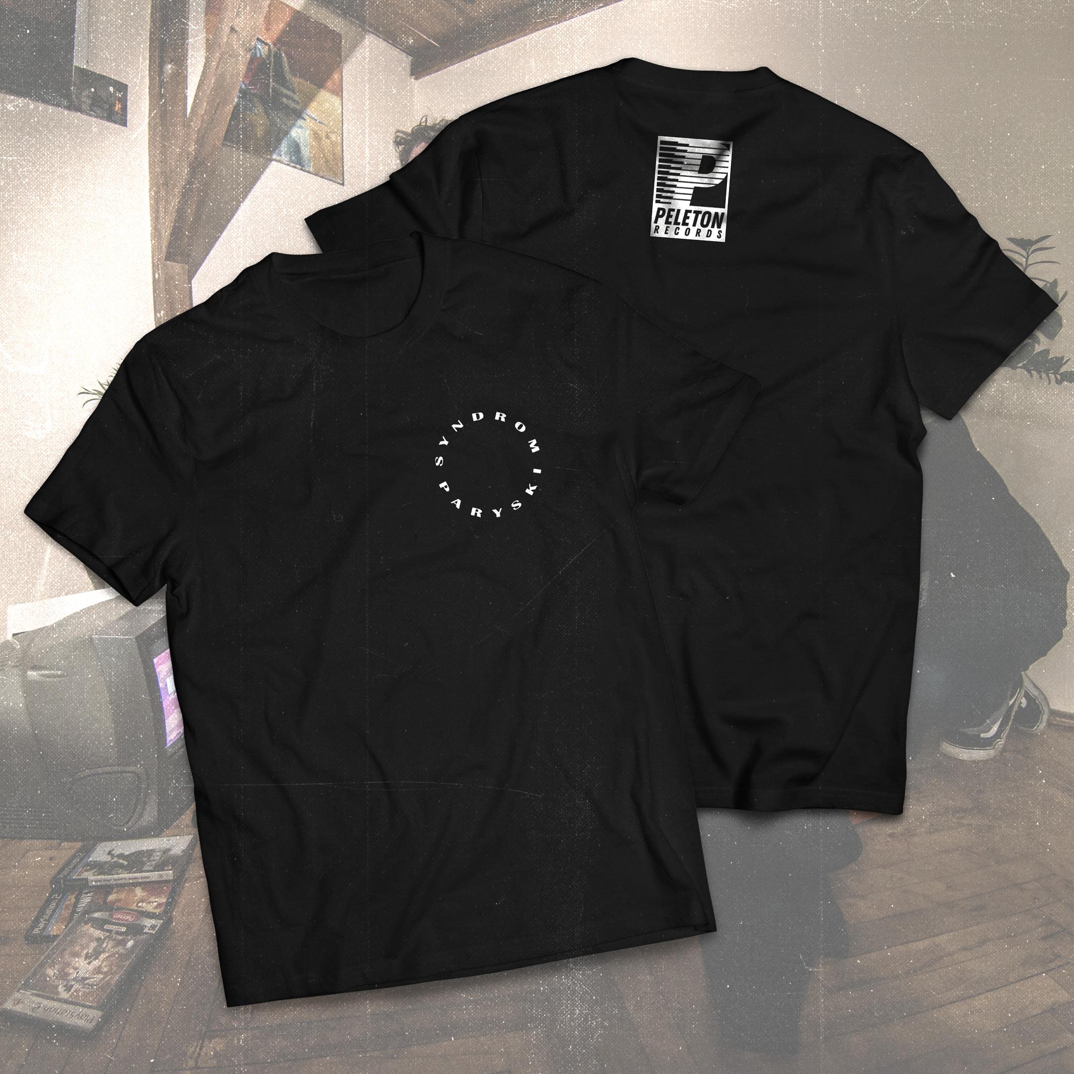 Syndrom Paryski - Circle Logo T-Shirt - Black