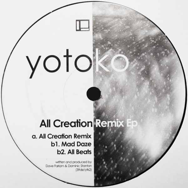Yotoko – All Creation Remix EP (Delsin)