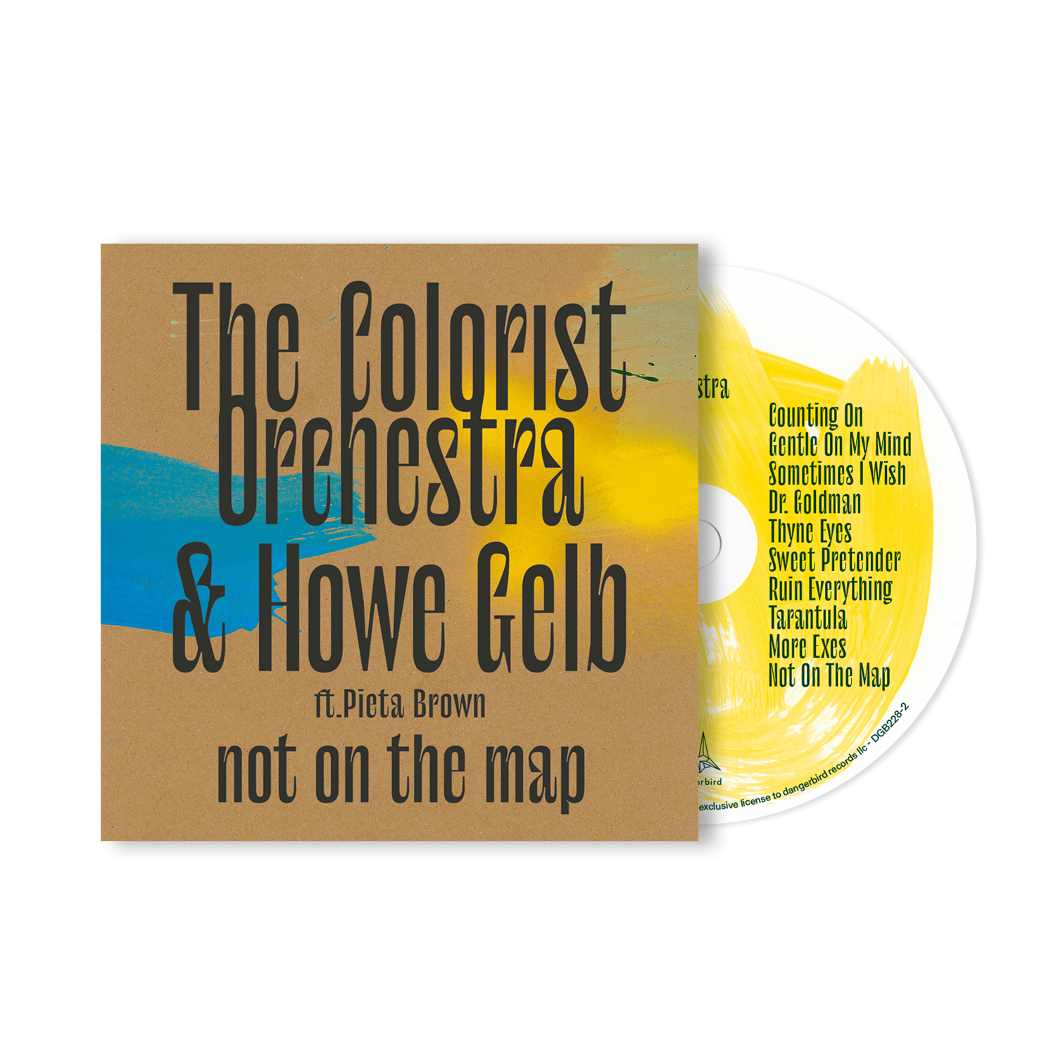 The Colorist Orchestra & Howe Gelb - Not On The Map - CD Bundle