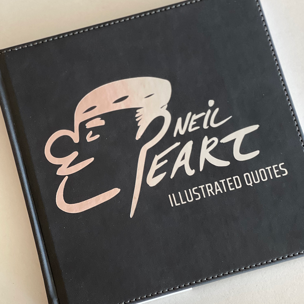 Neil Peart: The Illustrated Quotes book