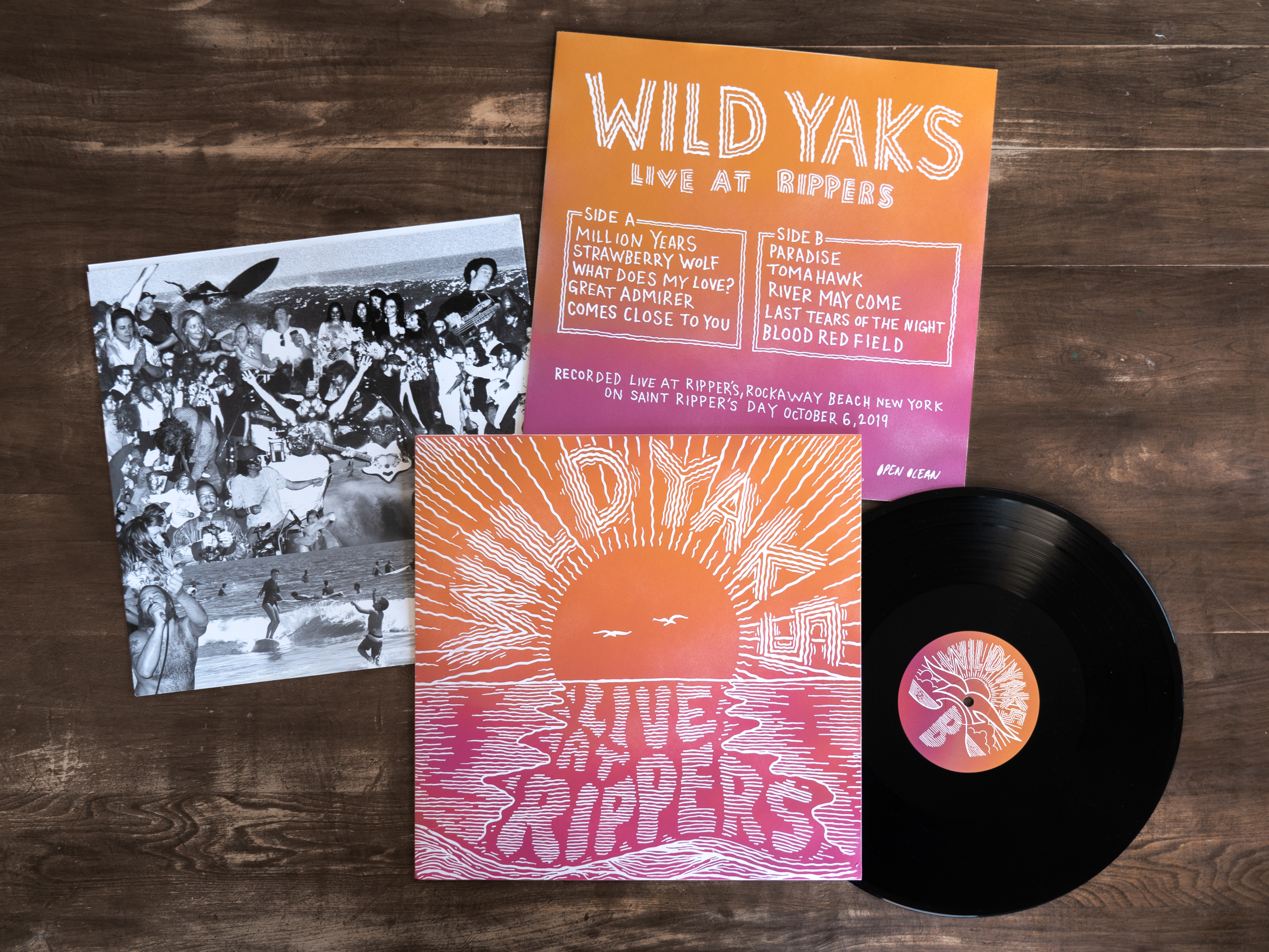 Wild Yaks - Live At Rippers