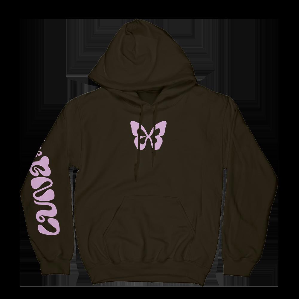 Brown Butterfly Hoodie