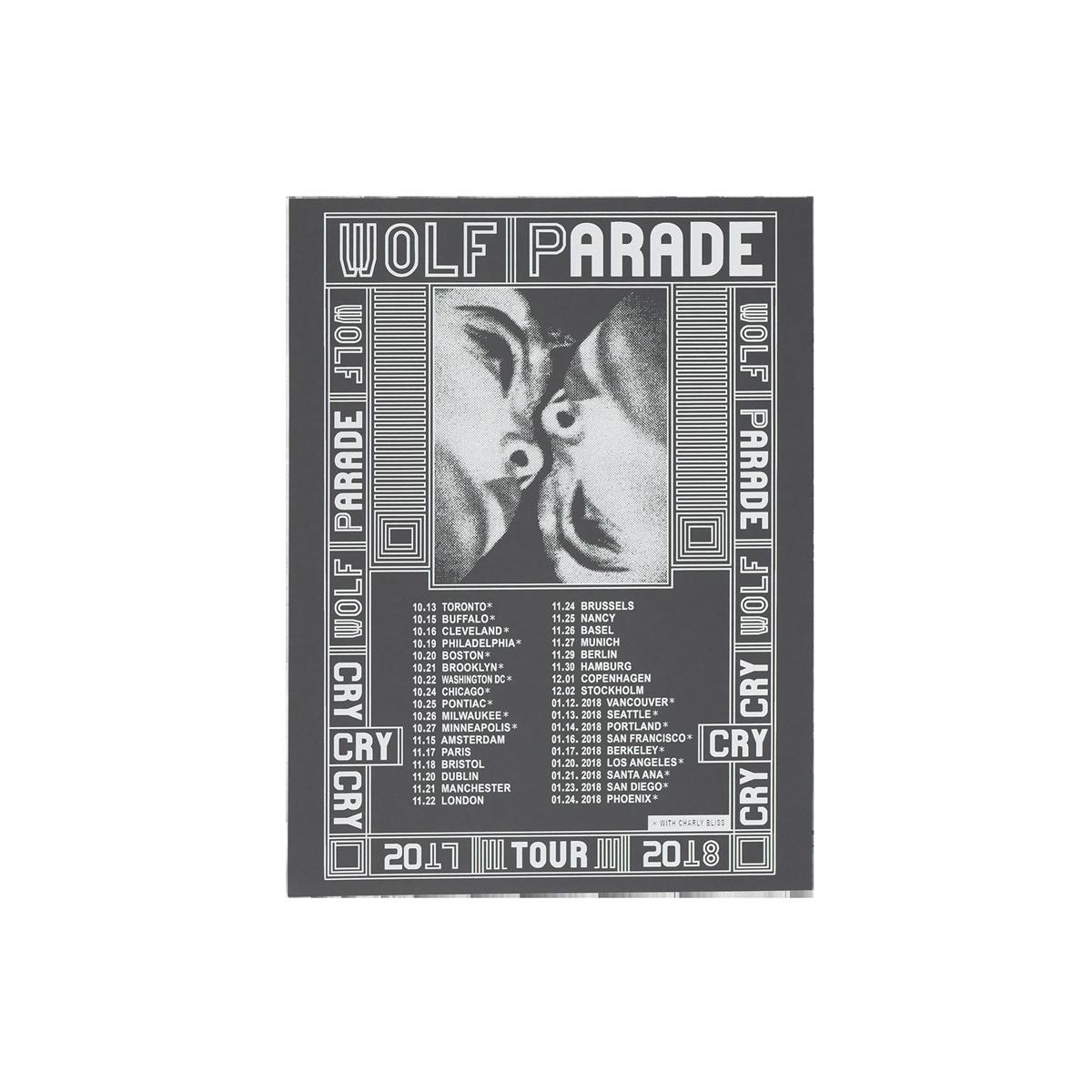 2017/2018 Tour Poster