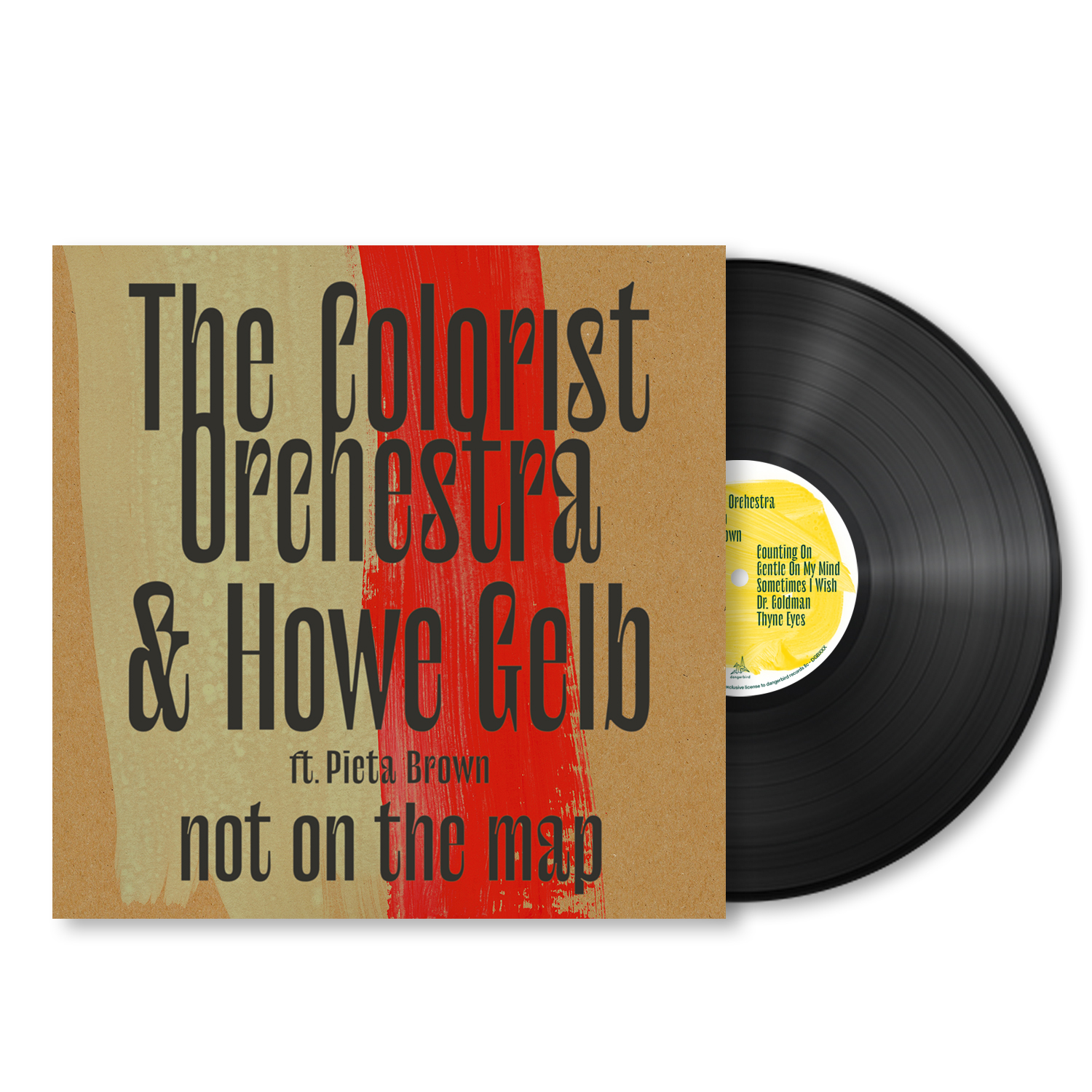 The Colorist Orchestra & Howe Gelb - Not On The Map - LP Bundle