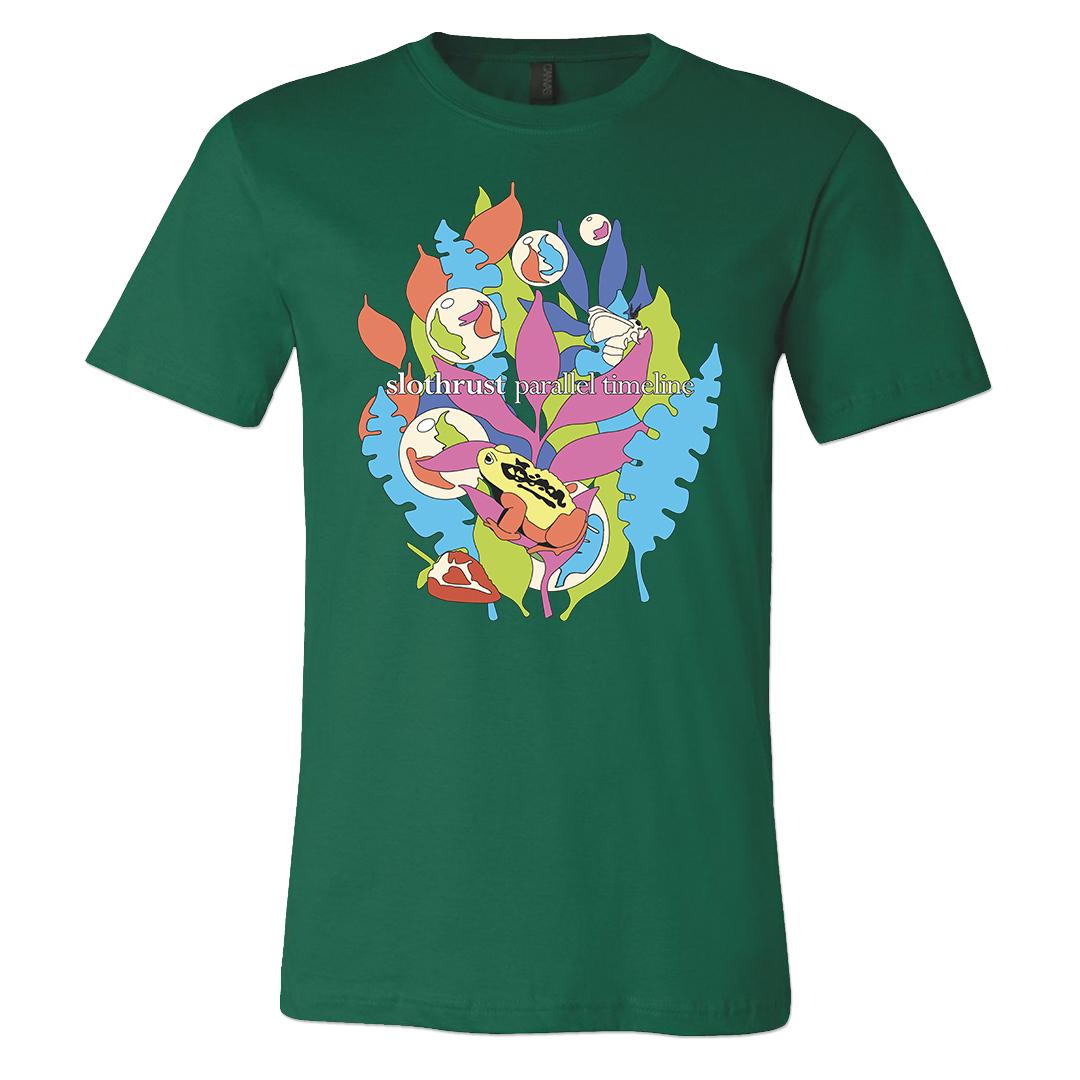 Slothrust - Parallel Timeline - T-shirt (Evergreen)