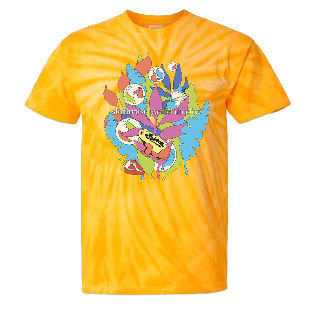 Slothrust - Parallel Timeline - T-shirt (Tie Dye)