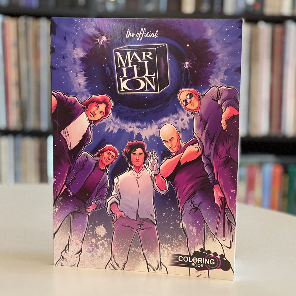 The Official Marillion Coloring Book: The H Years (Paperback)