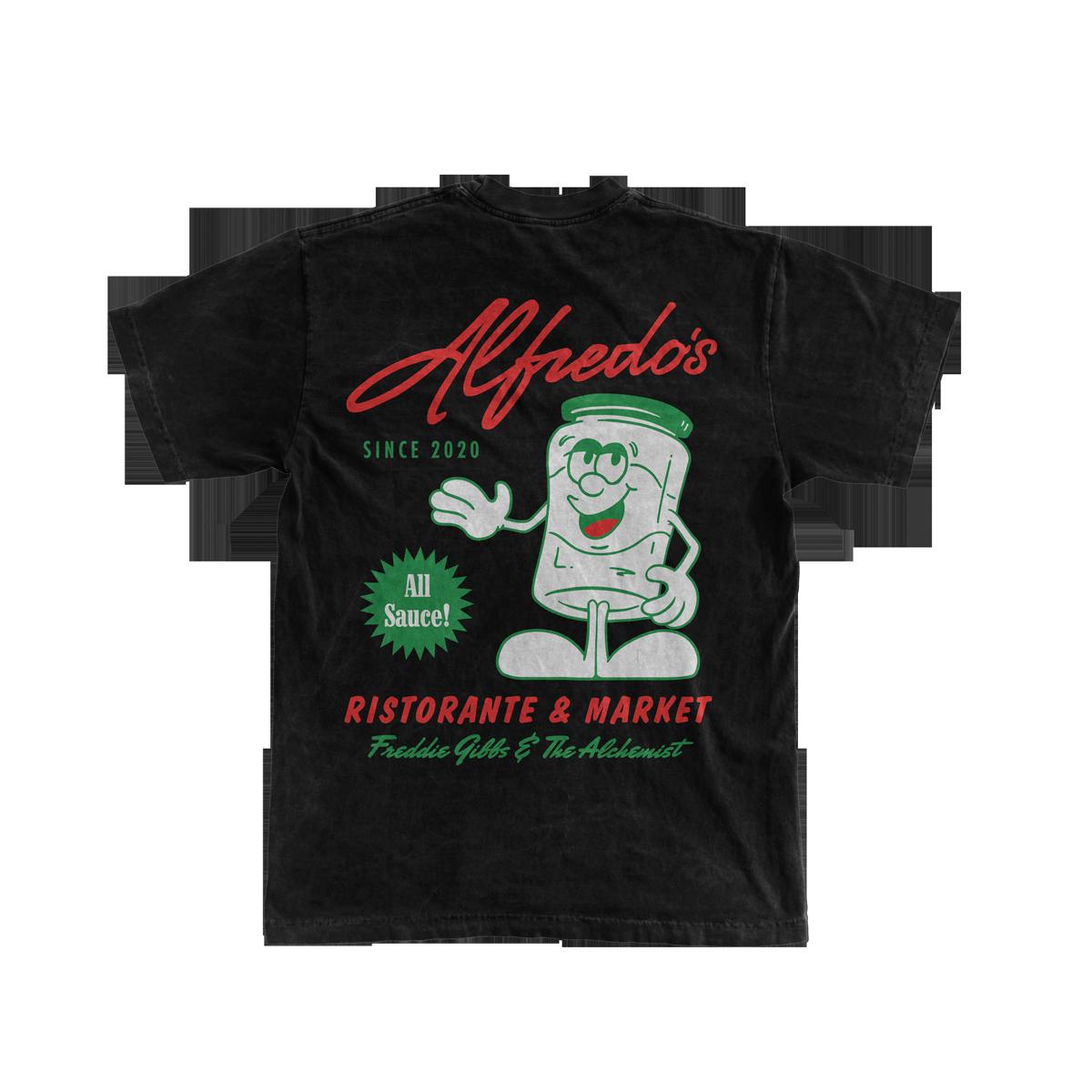 Alfredo's Mascot Tee - Black