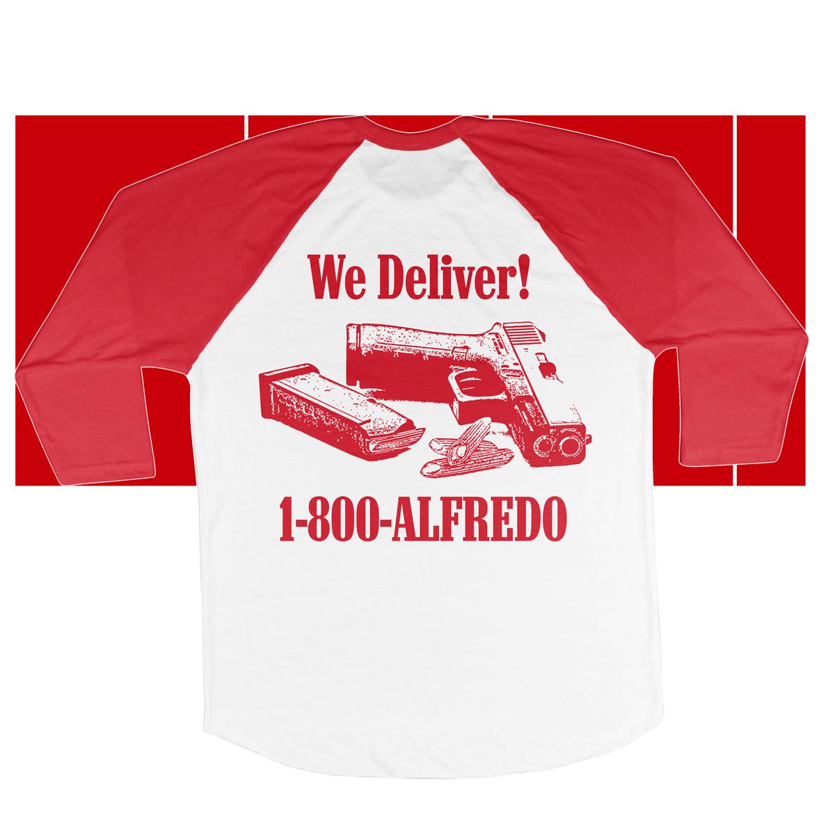 Alfredo's Deli Raglan