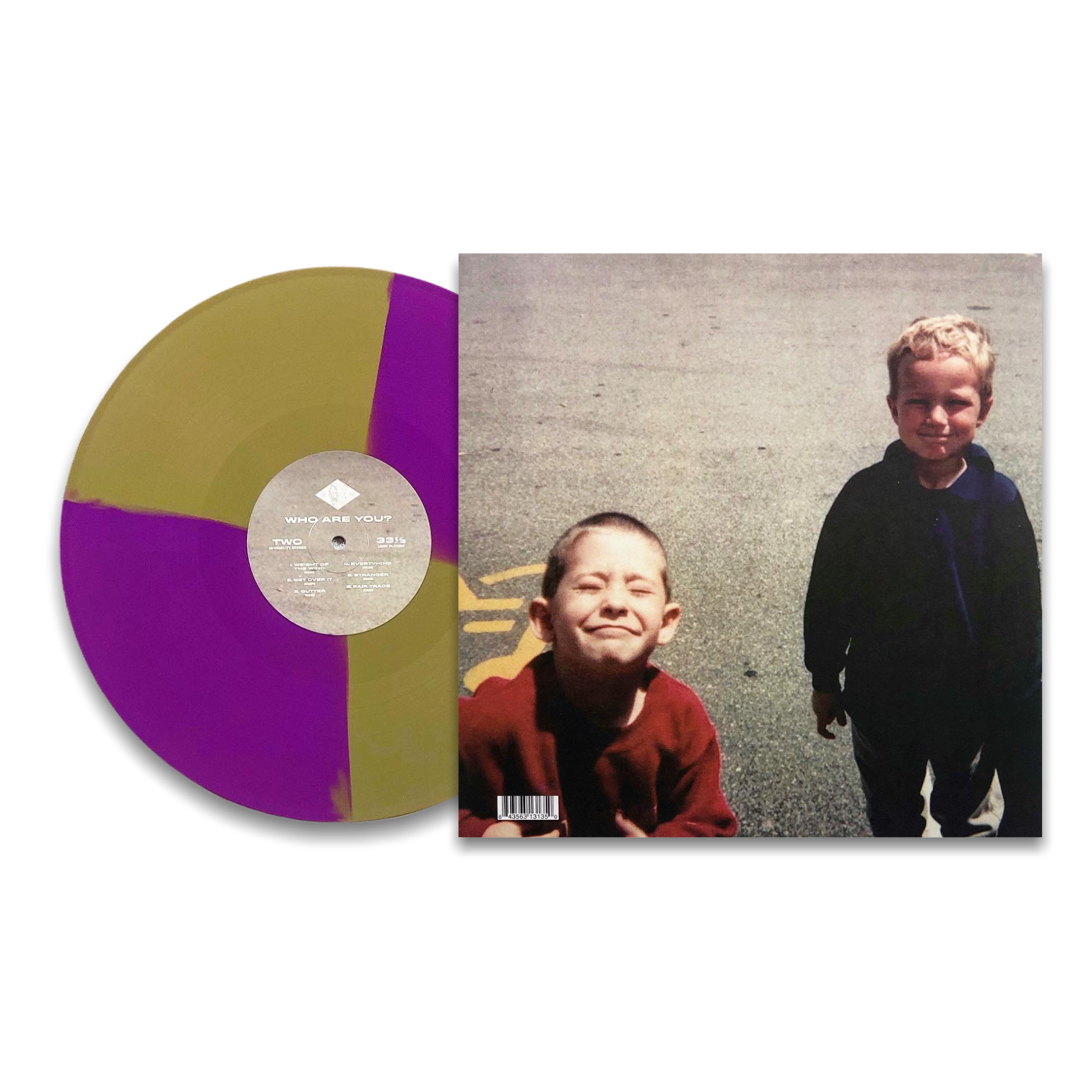 Bummer | Who Are You - Gold and Purple Twister Vinyl