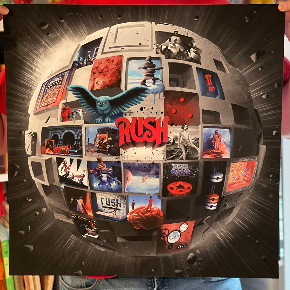 Planet Rush Print 20