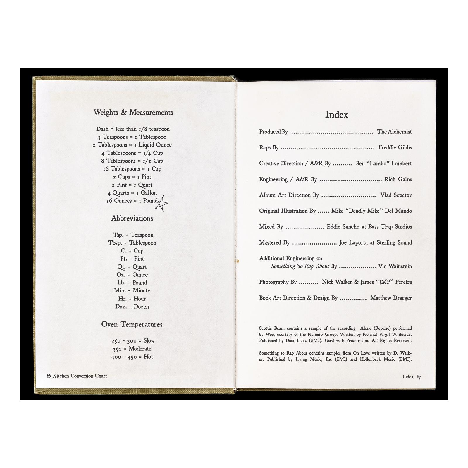 The Alfredo Cookbook