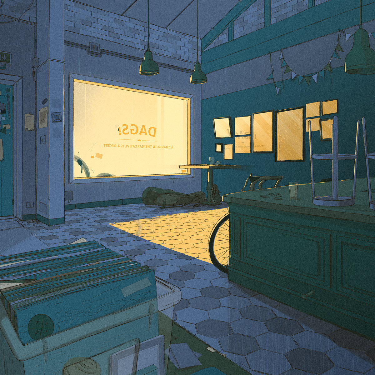 DAGS! - A change in the narrative is a deceit