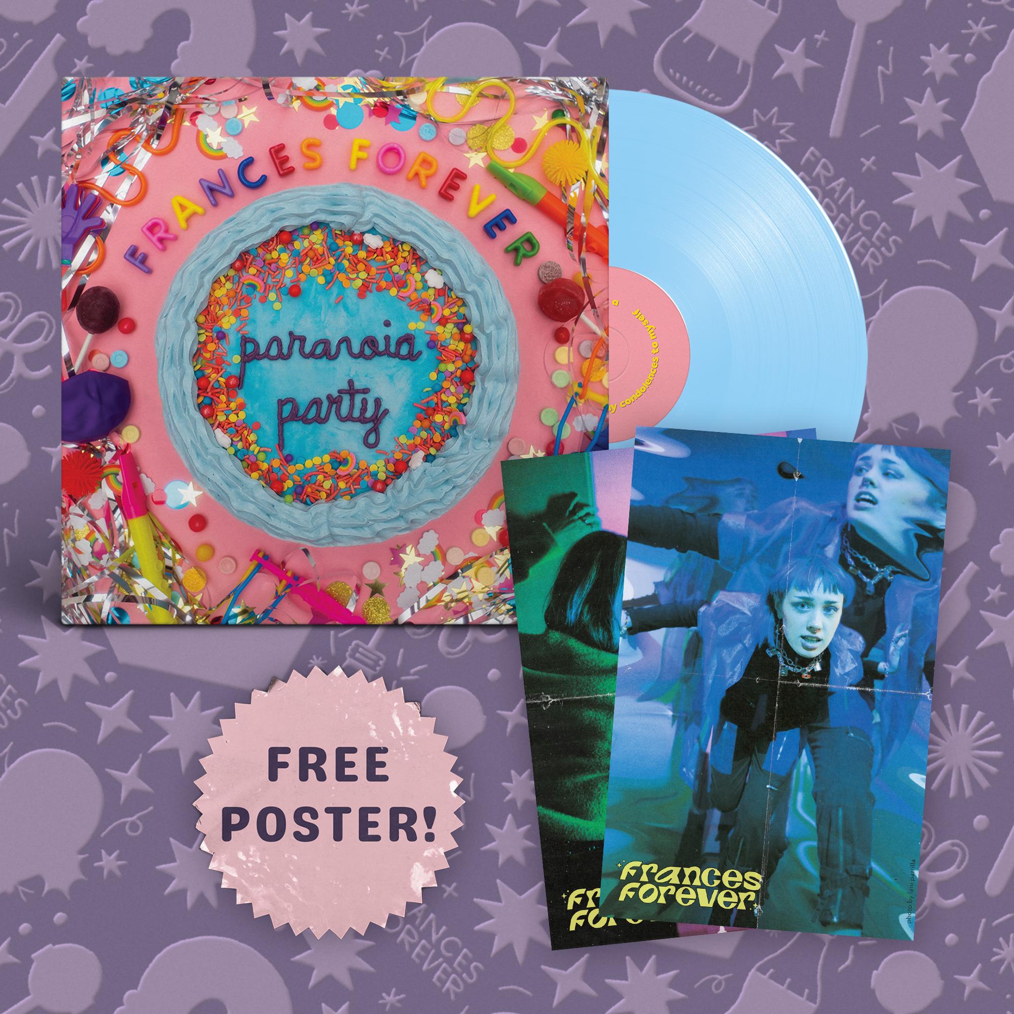 Paranoia Party Tee + Paranoia Party Sticker Sheet