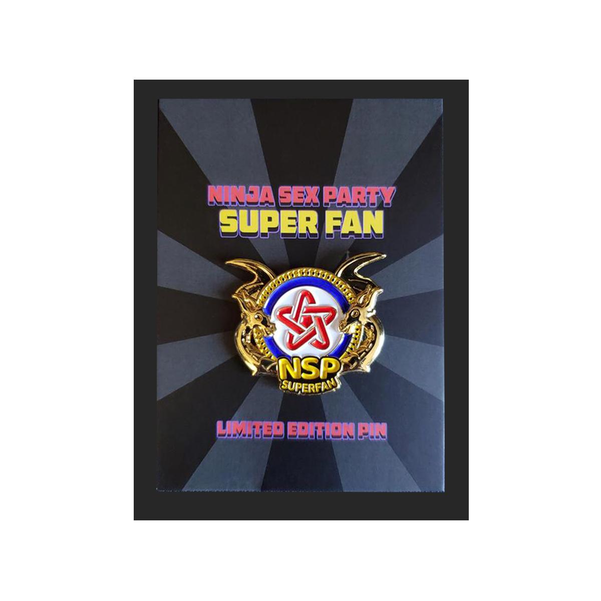 Super Fan Pin