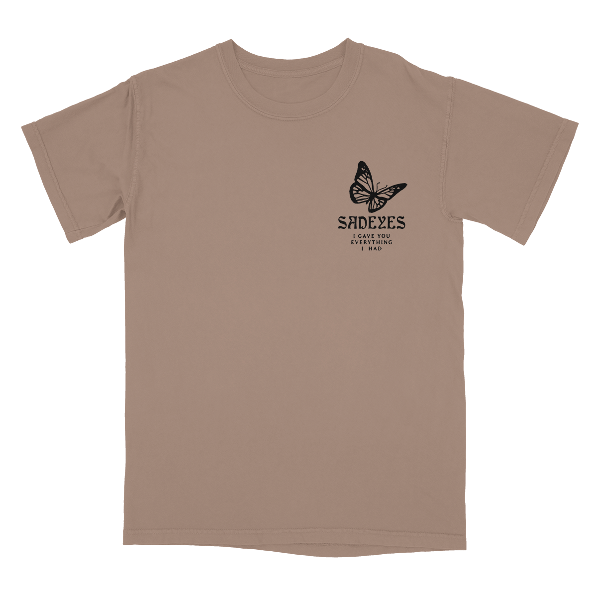 Brown Insect Tee