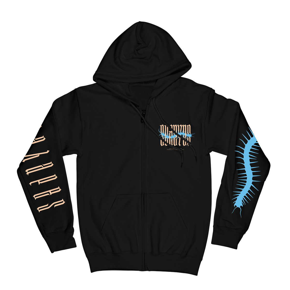 Insect Hoodie - Black