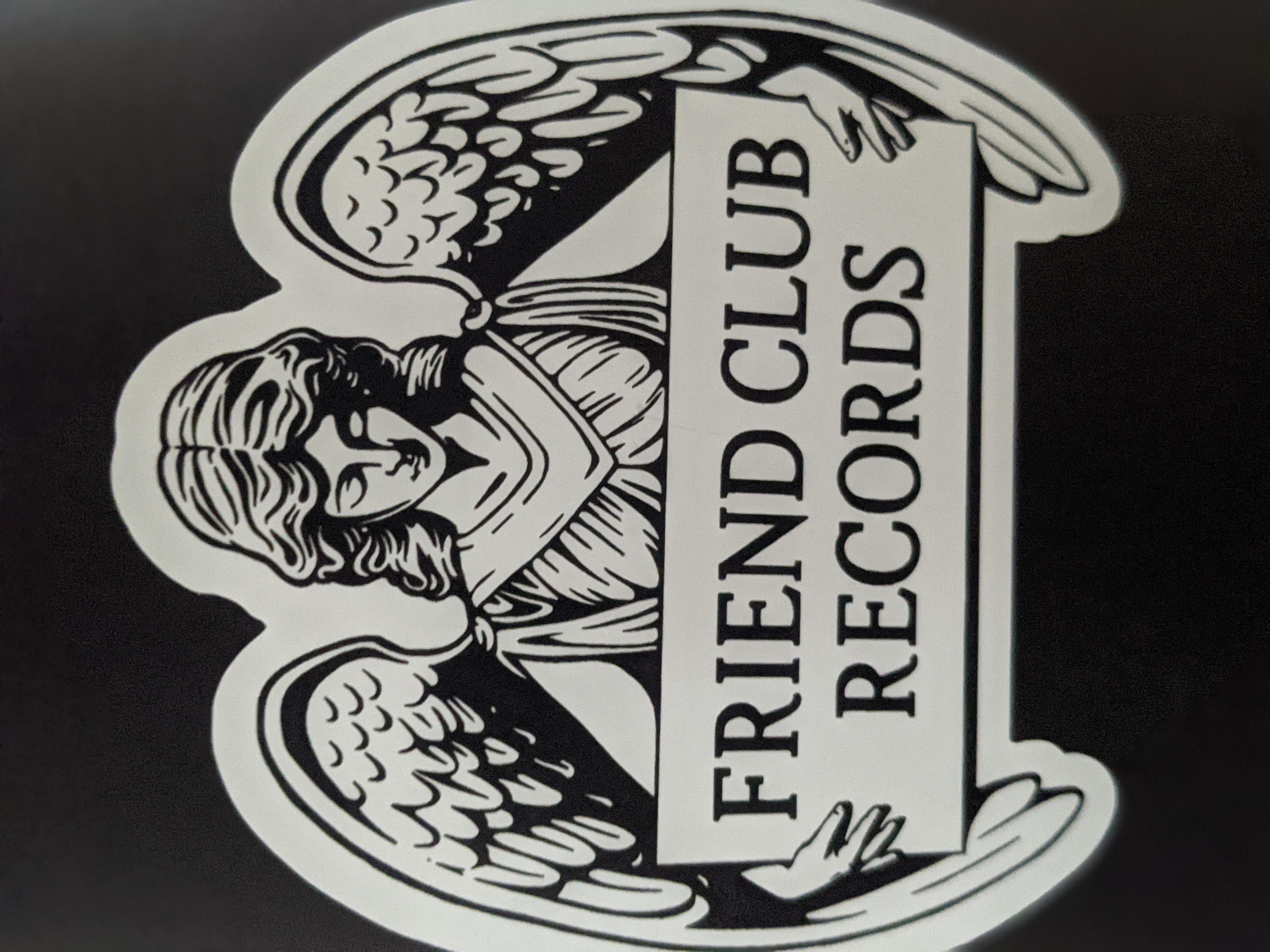 Friend Club Logo Magnet