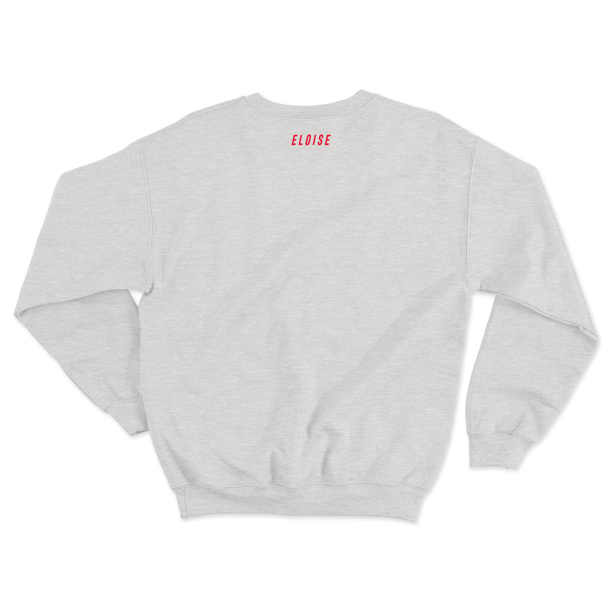 Somewhere In-Between Embroidered Crewneck (Red)
