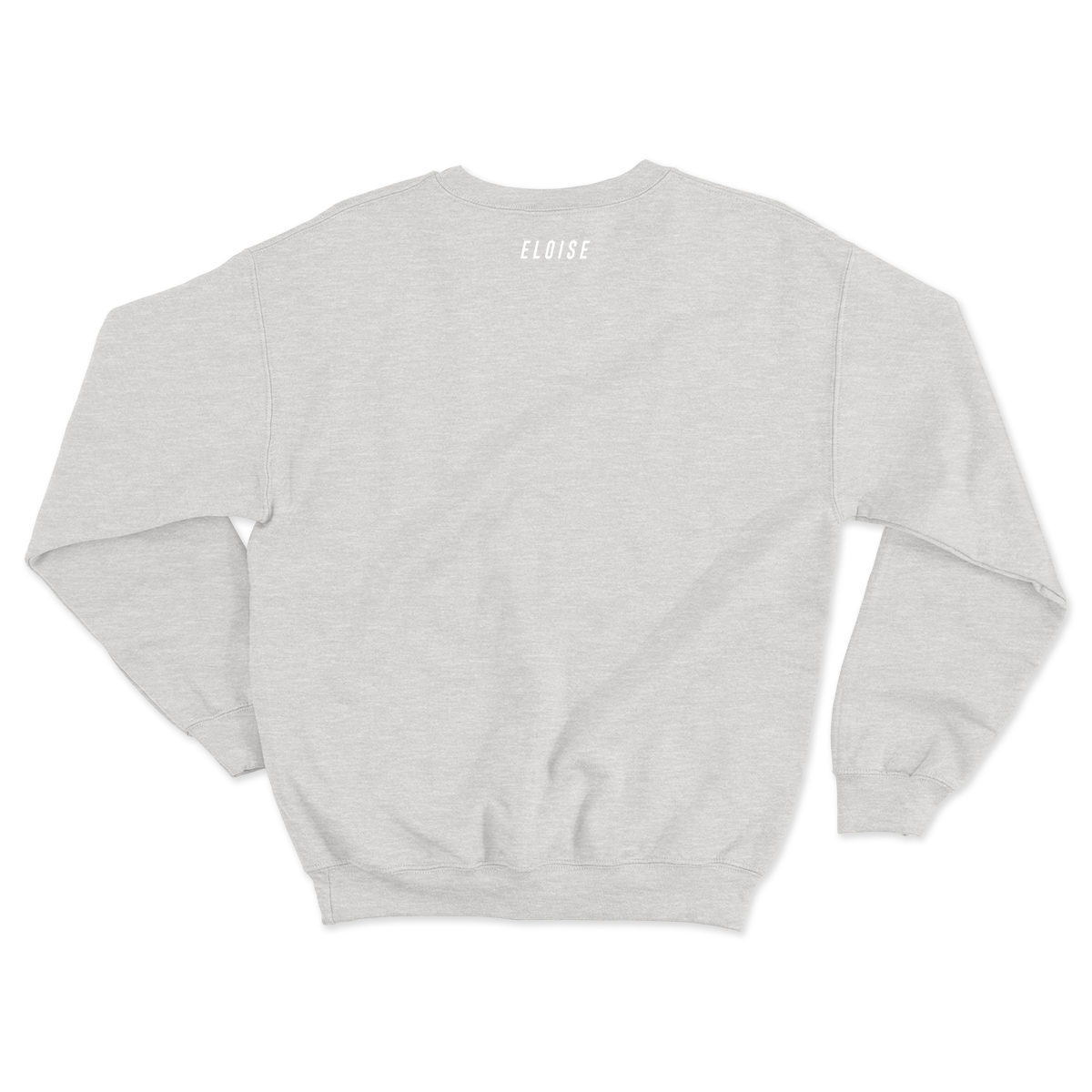 Somewhere In-Between Embroidered Crewneck (White)