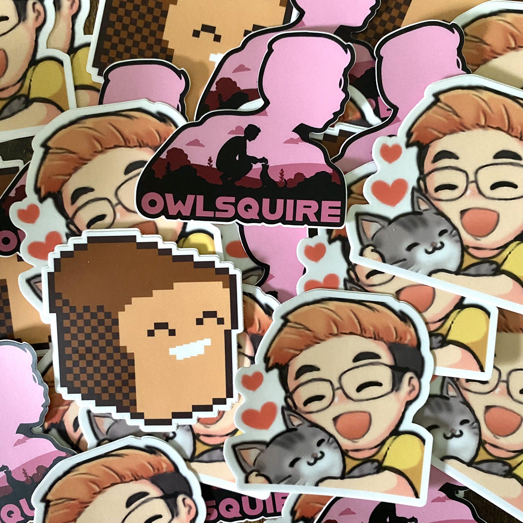owlsquire Sticker Pack