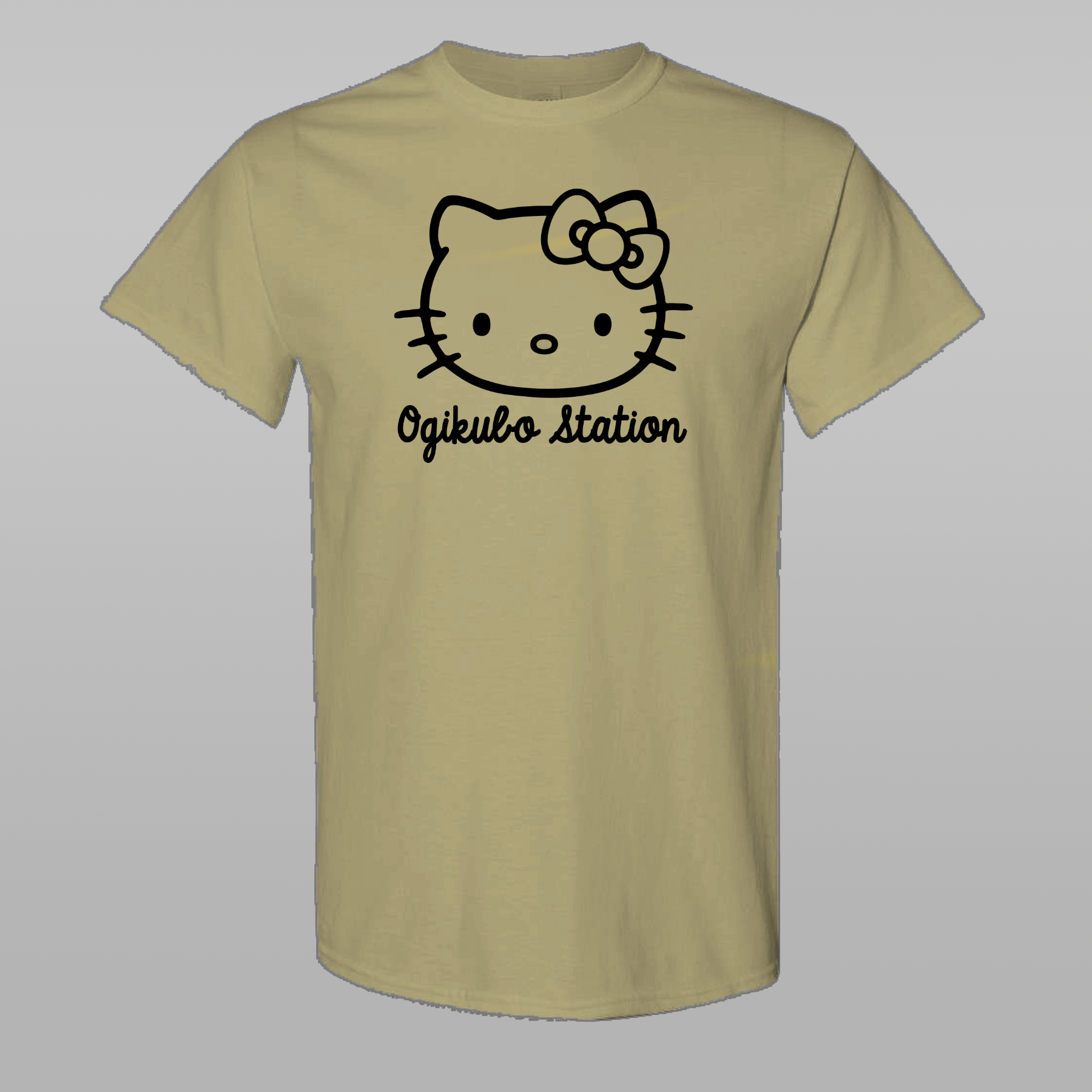 OGIKUBO STATION Kitty T-Shirt