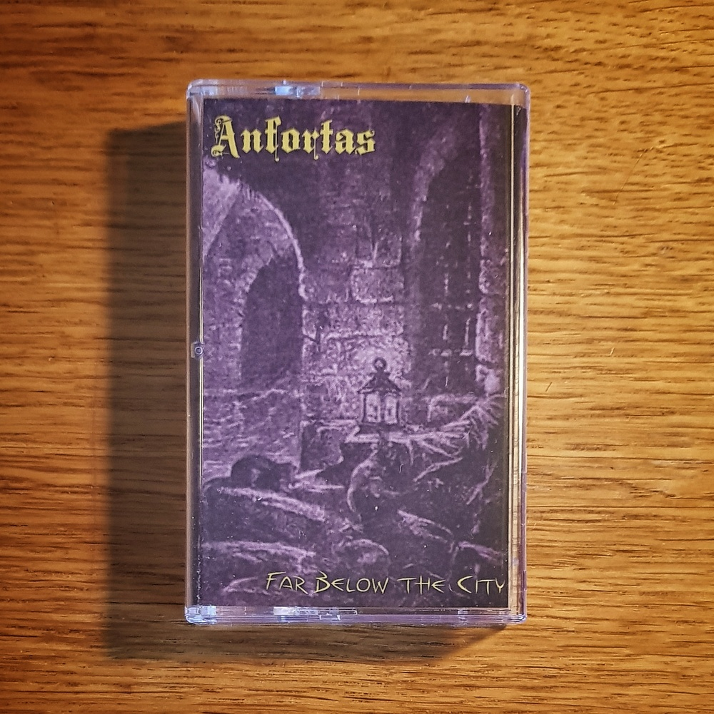 Anfortas - Far Below The City Cassette Tape