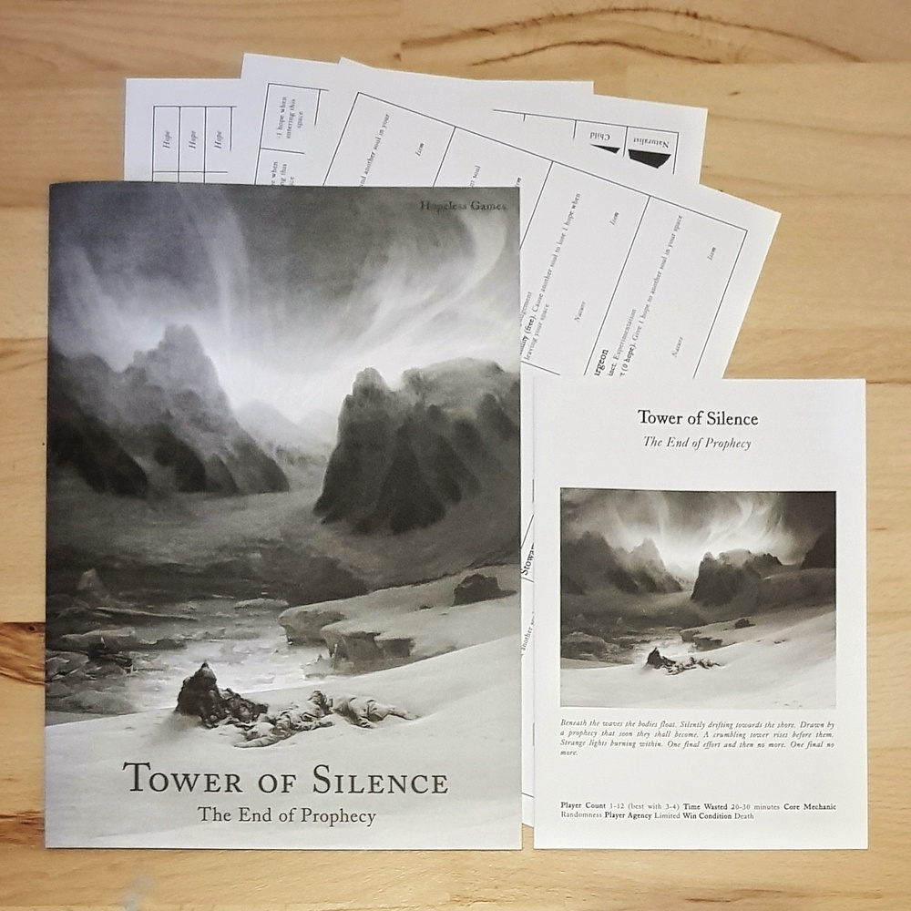 Tower Of Silence Tabletop RPG