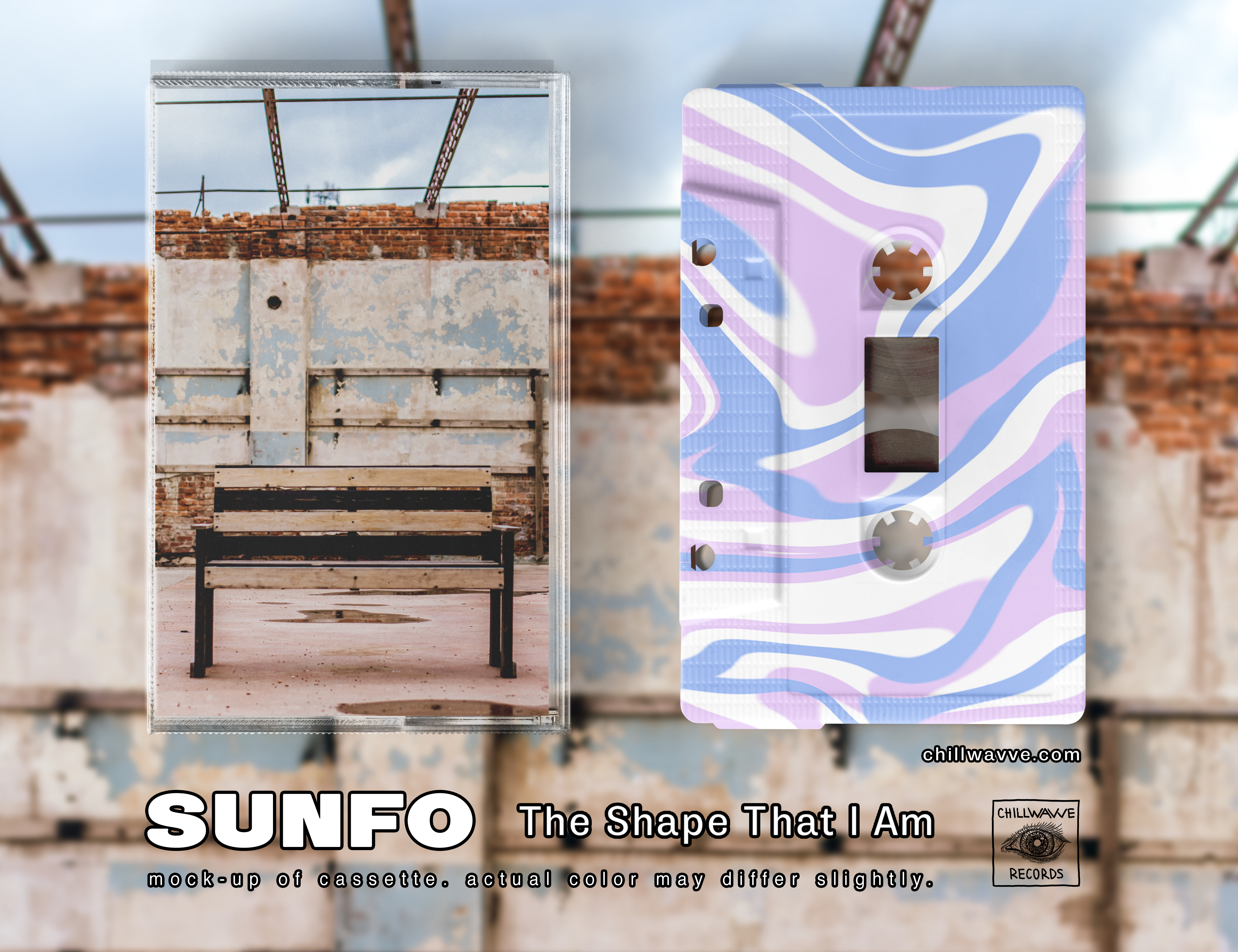 SUNFO - The Shape That I Am (Marbled Tapes)