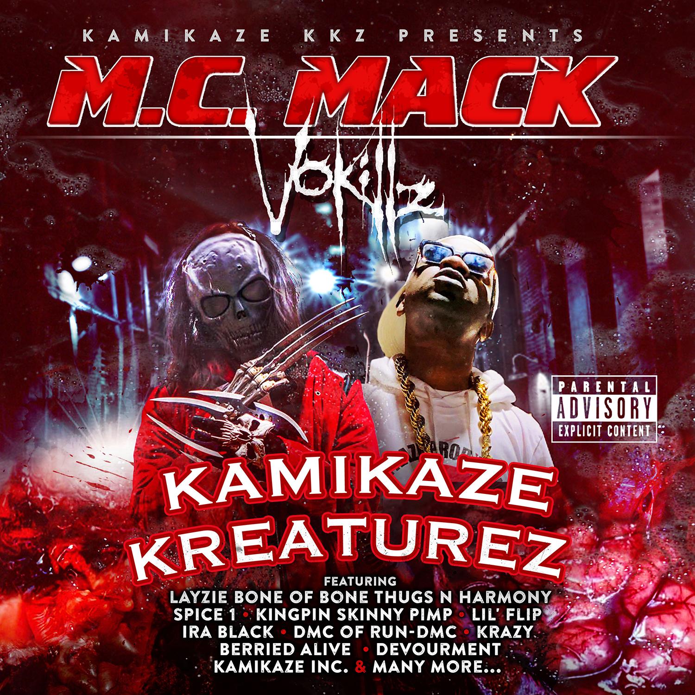 M.C. Mack & VoKillz - Kamikaze Kreaturez
