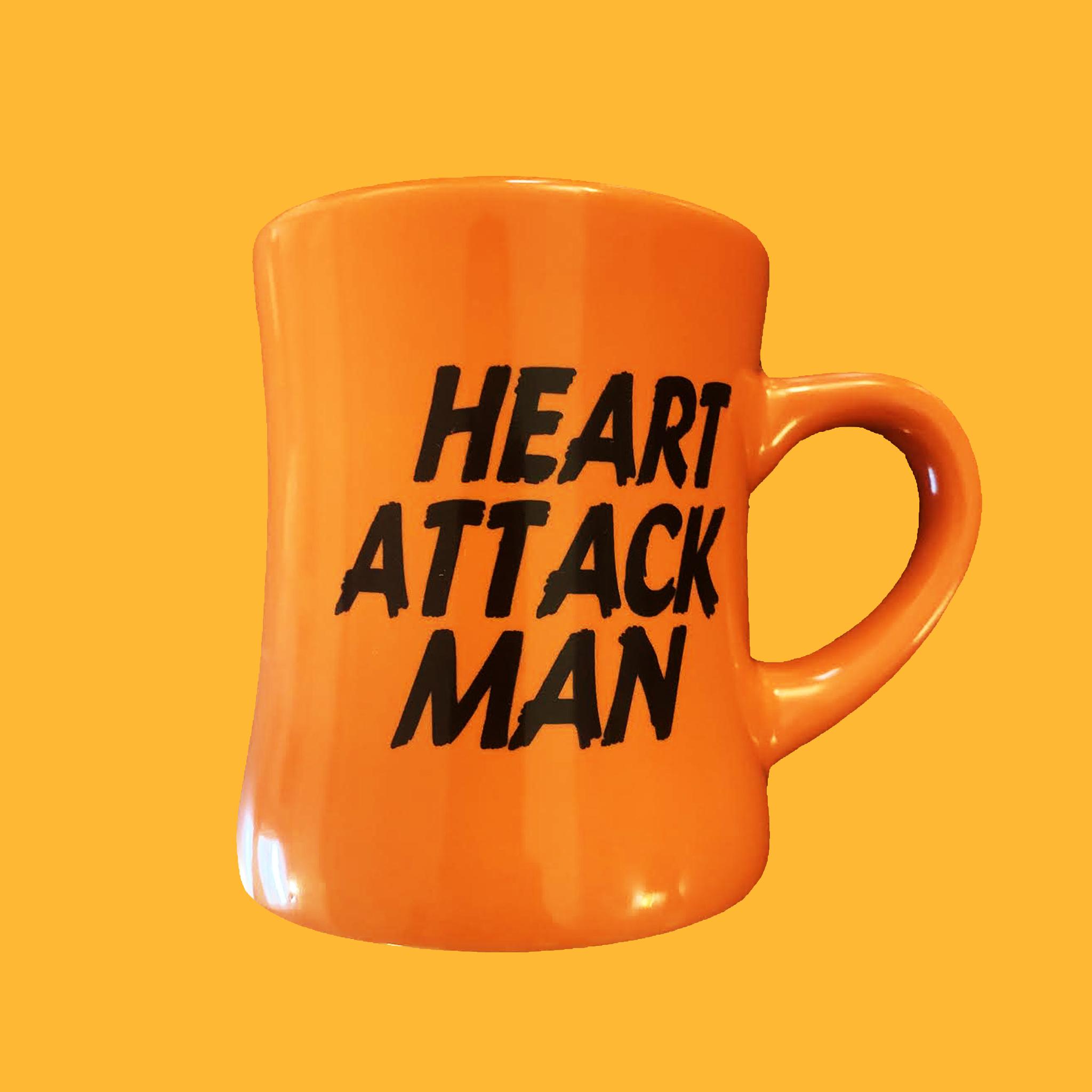 Orange Diner Mug