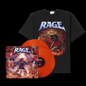 Rage - Resurrection Day (LP + Shirt